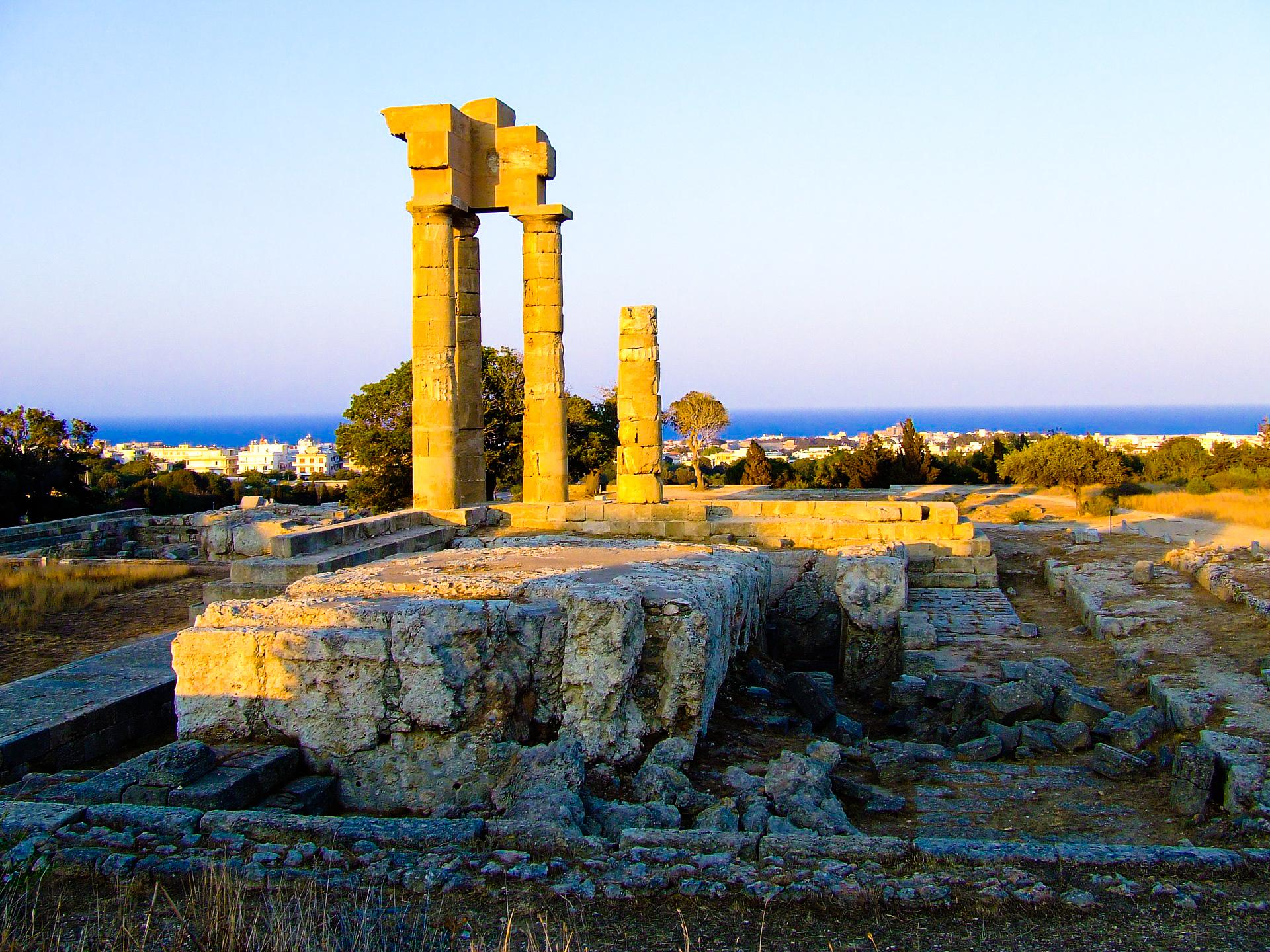 Rhodes in Greece