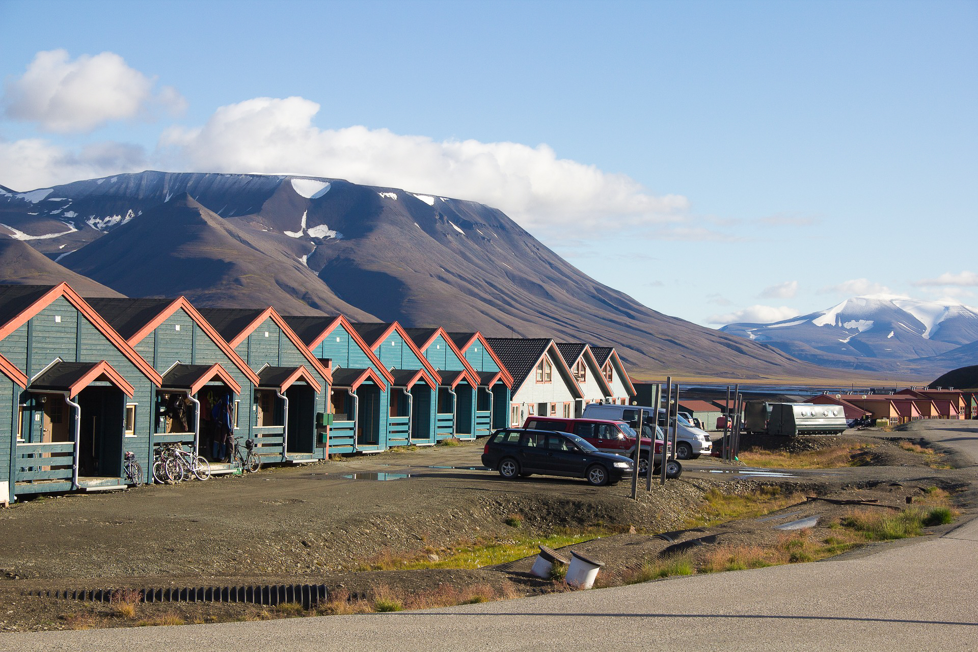 Svalbard Archipelago between Norway and the North Pole